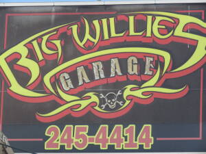 BIG WILLIES GARAGE AUCTION