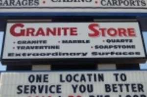 GRANITE STORE AUCTION