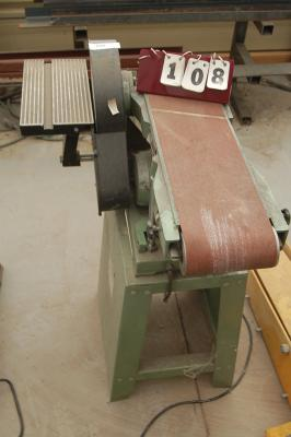 Central Machinery Belt And Disc Sander Combo
