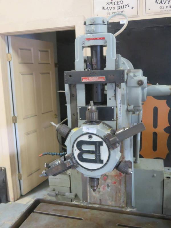 Burgmaster Turret Drilling Tapping And Boring Machine
