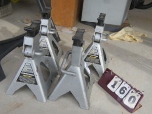 4- Three Ton Jack Stands