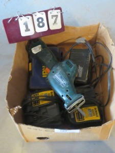 Box Of Charges And Saw
