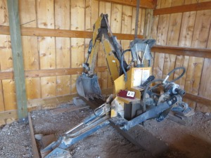 Woods 7500 Backhoe Attachment