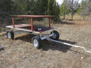 "80""x40"" Metal Wagon"