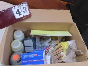 Misc. Box Of Brass And Reloading Equipment