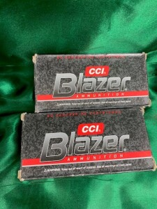 2 Boxes Of Blazer 9mm