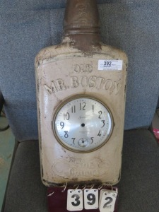 Old Mr. Boston Fine Liquors Clock