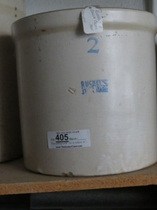 Ruckles 2 Gallon Crock