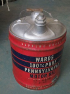 Wards Oil Can