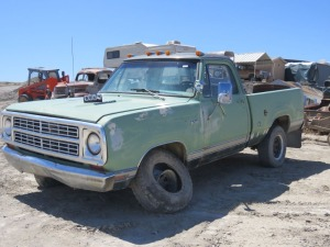 1976 Dodge Power Wagon Adventurer 100