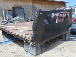 West Park 8' Diamond Back Flat Bed