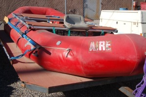Aire Raft and Frame