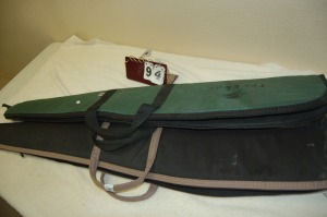 2 Canvas Rifle Scabbard