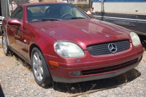 2000 Mercedes Kompressor Convertible