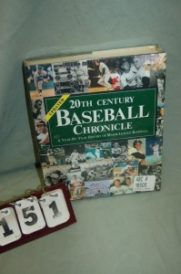 20th Century Baseball Chronical Book
