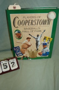 Players Of Cooperstown/ Baseball's Hall Of Fame Book
