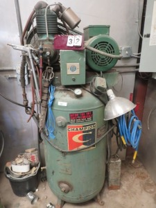 Champion Air Compressor With Dayton Motor