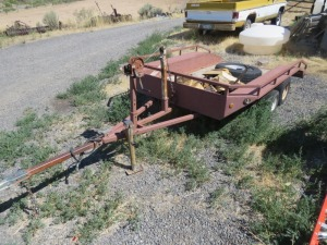 9' Utility Dump Trailer With Winch