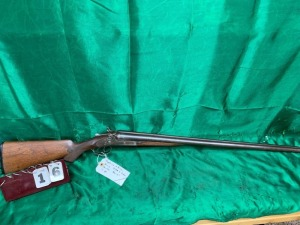 Hopkins And Allen Arms Side By Side Double Barrel 12Gauge