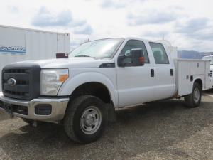 2011 Ford F250 Super Duty Non Running With Title