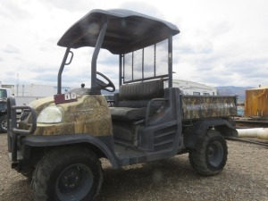 Kubota Diesel 900 4x4, Dump Bed, Power Steering, 1366 Hours, Non Running Needs Transmission