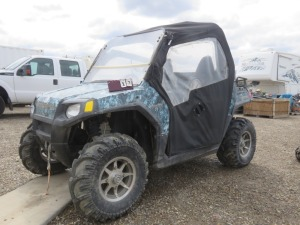 Polaris RZR 800 Side By Side, With Cab, Winch, Non Running