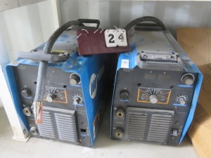 2 Miller Arc Welders, Parts Only
