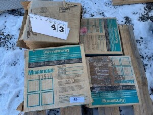 6 Boxes Of VCT Tile, 45 Per Box