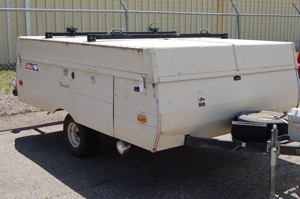 1987 Coleman Pop Up Camper - Current price: $575