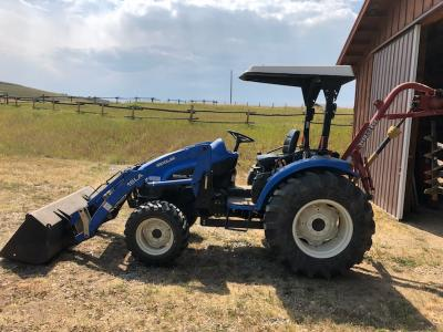 New Holland Tractor 2003 MDL-TC40 350 HRS